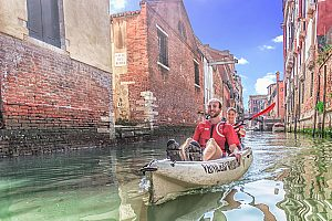 Admire Murano glass in Venice with a guided kayak tour