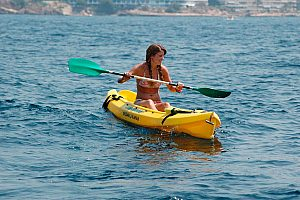 Guided kayak tours or kayak rental in Majorca southwest