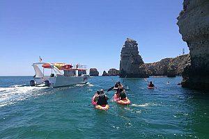 Beautiful kayak tour from Lagos to the Ponta de Piedade Caves in the Algarve