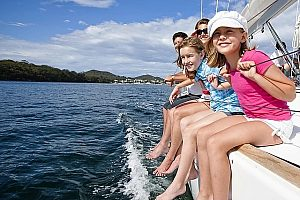 Boat charter on Mallorca - private island cruise with skipper from Can Picafort