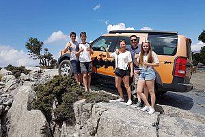 Jeep fahren auf Kreta