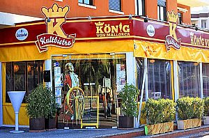 Transfer to Cafe Katzenberger and visit the Kultbistro of Juergen Drews Majorca