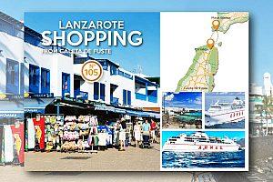 Shopping-Tour auf Lanzarote von Fuerteventura aus