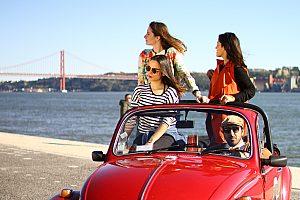 Lissabon Sightseeing im Cabrio