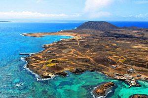 Insel Lobos bei Lanzarote Bootstour erkunden
