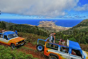The Madeira jeep tour from Funchal for all senses through the green northeast
