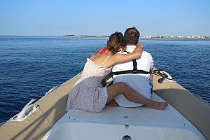 Ab Sa Rapita Boot fahren
