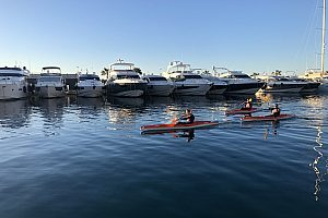 In the southwest of Majorca: Cala Major Kayak Tour from Calanova