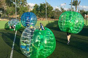 Zorbing Ball Mallorca Fußball