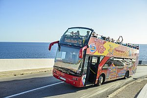 Bustour durch Malta