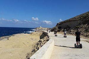 Fantastic Malta Segway Tour in Gozo starting in Mgarr Harbour