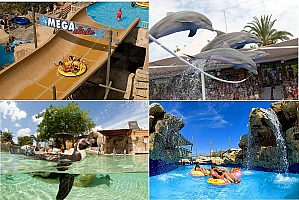 Tour to water parks Mallorca
