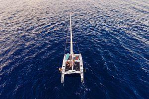 ganztägiger Katamaran Trip auf Menorca