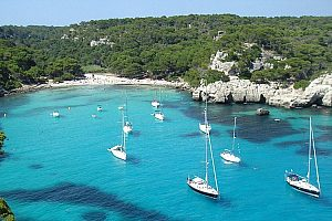 Eventful boat trip in Menorca with island-wide pick-up
