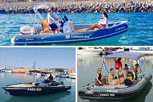 Motorboote mieten in Palma de Mallorca