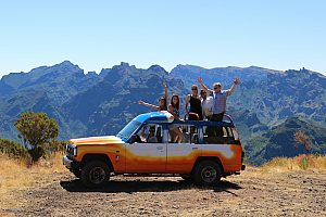 "Wonderful mountain jeep tour in Madeira over the ""Royal Way"""