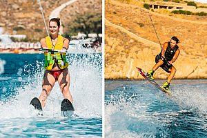 Wasserski & Wakeboard fahren auf Mykonos