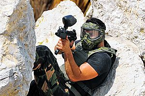 Play paintball in Alcúdia: Get an adrenaline rush in North Mallorca