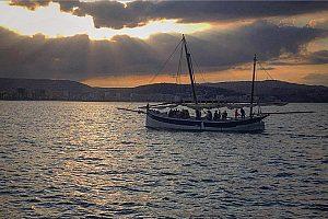 Sail at night from Palamos under the stars: night sailing trip along Costa Brava
