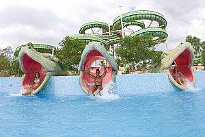 Spaß im Aqualand El Arenal auf Mallorca