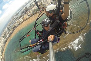 Power Paragliding on Gran Canaria - flying with Paratrike or Paramotor