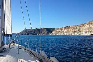Adventurous sailing trip from Aguilas: sail at the Costa Calida