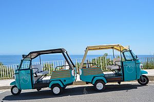 "By tuk tuk through Albufeira ""sightseeing tour city & beach"""