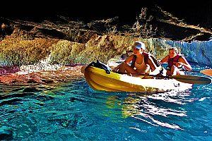 Kayak Tour auf Mallorca mit Familie
