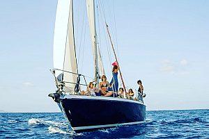 Private Segeltour rund um Formentera
