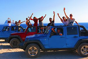 Ibiza Jeep Tour for self-drive - private day trip across the island