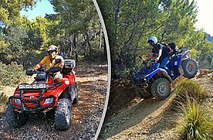 "Quad Tour Mallorca ""With the Quad on C710"" - Starting from Andratx"