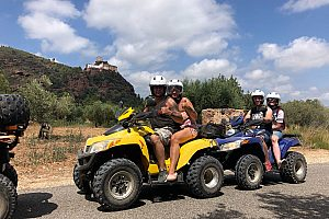 Quad biking Salou: visit the chapel Mare de Deu de la Roca near Montroig