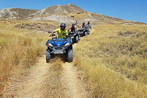 Off-road Quad bike tour through Agrigento in Sicily (from Ribera)