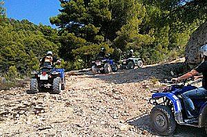 "Quad rental Mallorca (Andratx) ""Quad tour and culinary delights""."