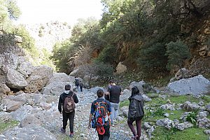 Hiking in the East of Crete: Tour through the Adrianos Gorge