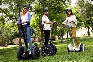 Segway park Valencia: explore the gardens of Turia and Cabecera park by Segway