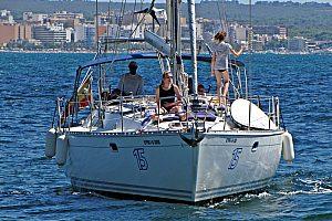 Segeln Mallorca Frontansicht