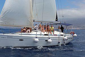 Beautiful sailing trip in Tenerife from Costa Adeje
