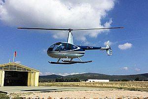 Santorini Hubschrauber-Rundflug