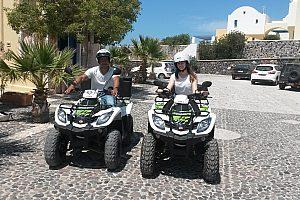 Santorini Quad fahren