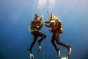 Diving course in Mallorca east or trial dive in Porto Colom