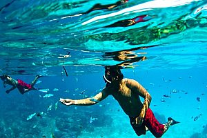 Fantastic Majorca boat tour from Can Picafort - Snorkeling in the nature park Llevant