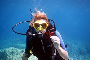 Scuba dive Cephalonia in Greece