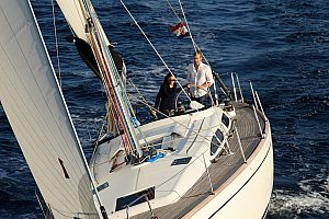 Sailing on Mallorca through the bay of Palma - 6-hour cruise with skipper