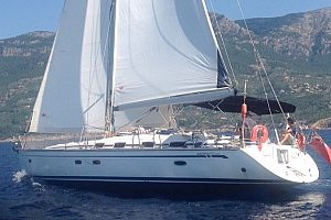 Sailing boat hire in Sóller in Mallorca for up to 9 people