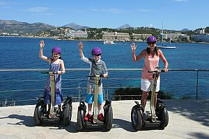 Guided Segway tours in Santa Ponsa in the southwest of the island