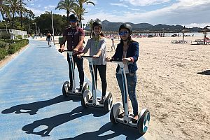 Guided Segway tours in Alcudia, in north of Majorca