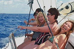 Cabin charter and sailing around Majorca: 1 week round sailing trip