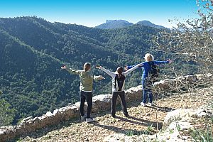 Hiking in harmony with nature in Mallorca east