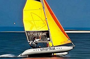 Katamaran segeln (lernen) Smartkat Gran Canaria
